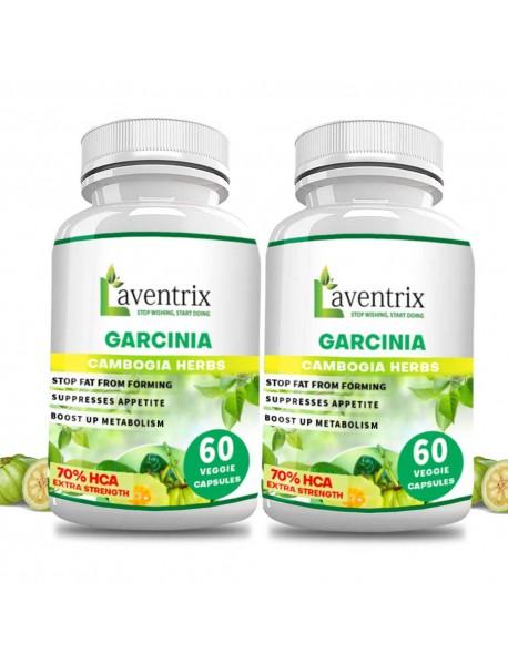 Laventrix Garcinia Cambogia Herbs-2 Bottle