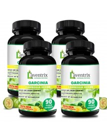 Laventrix Garcinia Cambogia Herbs  (90 caps) 4 Bottle