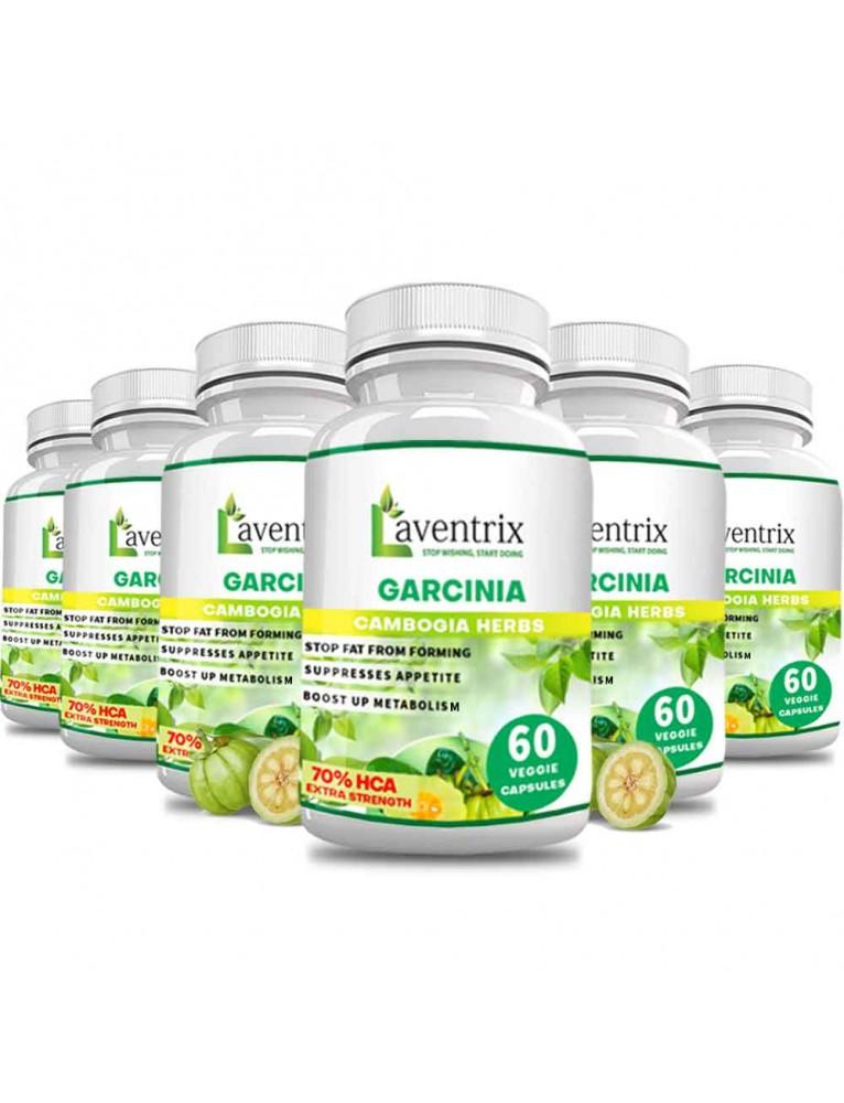 Garcinia Cambogia Herbs - 6 Bottles